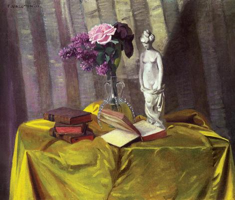 Vase et statuette